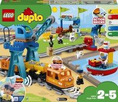 Конструктор LEGO DUPLO Town Грузовой поезд 105 деталей (10875) (5702016117271)