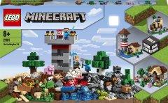 Конструктор LEGO Minecraft Верстак 3.0 564 детали (21161)