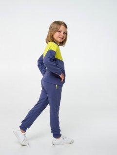 Спортивный костюм Smil 117282 140 см Ярко желтый (4824039242417)