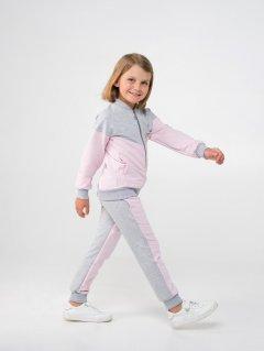 Спортивный костюм Smil 117282 116 см Серый меланж (4824039242301)