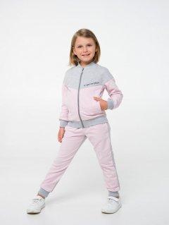 Спортивный костюм Smil 117282 140 см Серый меланж (4824039242424)