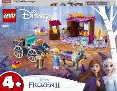 Конструктор LEGO Disney Princess Frozen 2 Дорожные приключения Эльзы 116 деталей (41166)
