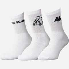 Набор носков Kappa 93520545-2 39-42 3 пары Белый (3349060197419)
