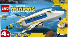 Конструктор LEGO Minions Миньоны: тренировочный полет 119 деталей (75547)