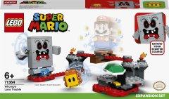 Конструктор LEGO Super Mario Неприятности в крепости Вомпа дополнительный набор 133 деталей (71364)