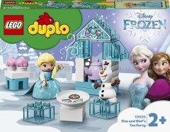 Конструктор LEGO DUPLO Princess Чаепитие у Эльзы и Олафа 17 деталей (10920)