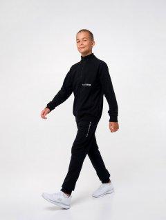Спортивный костюм Smil 117175 146 см Черный (4824039236829)