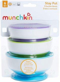 Набор тарелок с присосками Munchkin 3 шт (27188) (735282271885)