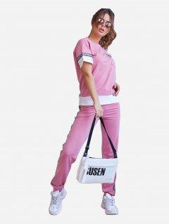 Спортивный костюм ISSA PLUS 11960 S Розовый (issa2000325692513)