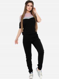 Спортивный костюм ISSA PLUS 10590 S Черный (2000074248658)