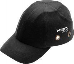 Бейсболка NEO Tools усиленная CE Черная (97-590)