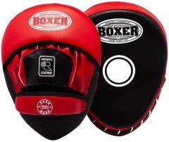 Лапы боксерские Boxer 0.8 мм Черно-красные (2013-01R)
