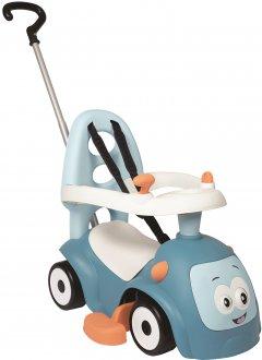 Машина для катания малыша Smoby Toys Маэстро 3 в 1 со звуковыми эффектами голубая (720304)