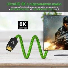 Кабель Vertux VertuLink-300 HDMI 2.1 UltraHD-8K HDR eARC 3 м Lasergreen (vertulink-300.lasergreen)