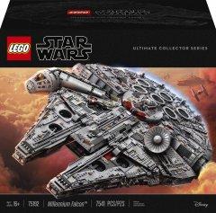 Конструктор LEGO Star Wars Сокол Тысячелетия Millennium Falcon 7541 деталь (75192) (5702015869935)