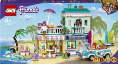 Конструктор LEGO Friends Серферский дом на берегу 685 деталей (41693)