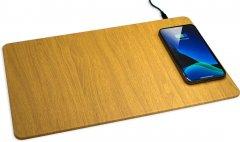 Беспроводное зарядное устройство Ailink Mouse Pad 2 QI Fast Charge Золотистое (AI-MouseP2gl)