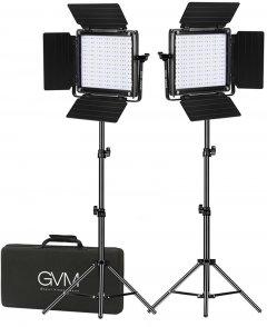 Набор постоянного LED видеосвета GVM Great Video Maker 800D-RGB (3200-5600K) х2 (800D-RGB-2L)