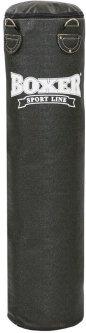 Мешок боксерский Boxer кирза 140 см Черный (1002-01)