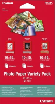 Фотобумага Canon 4 x 10*15 VP101S Photo Paper Variety Pack (0775B078)