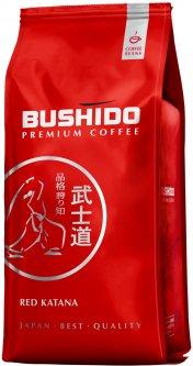 Кофе в зернах Bushido Red Katana 1 кг (5060367340435)