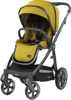 Универсальная коляска 2 в 1 BabyStyle Oyster 3 Mustard City Grey (O3SUMU/O3CCMU)