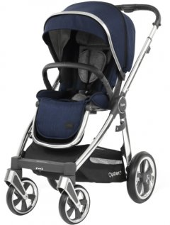 Прогулочная коляска BabyStyle Oyster 3 Rich Navy Mirror (O3SURI)