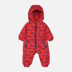 Демисезонный комбинезон Одягайко 30068 74 см Красный с синим (ROZ6400141750)