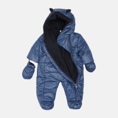 Демисезонный комбинезон Одягайко 30069 68 см Темно-синий (ROZ6400141766)
