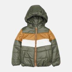Демисезонная куртка Одягайко 22739 140 см Хаки с коричневым (ROZ6400141891)
