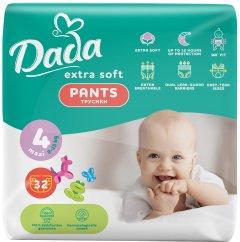 Трусики-подгузники Dada Extra Soft 4 Maxi 9-15 кг 32 шт (4820174980689)