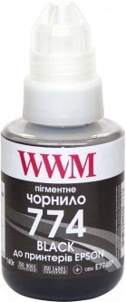 Чернила WWM для Epson M100/M200 140 г Black Pigment (E774BP)