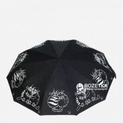 Зонт складной AVK L3FA59SA-10-03 полный автомат Черный (4508143500037)