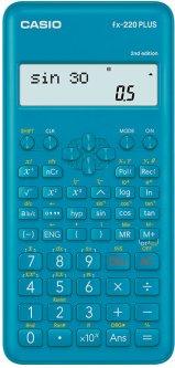 Калькулятор Casio с алгебраическим введением данных 78х155х18 (FX-220PLUS-2-W) (4549526607141)