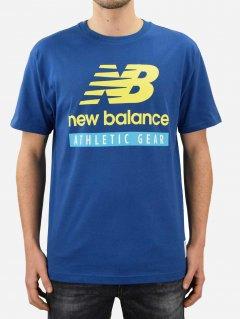 Футболка New Balance Essentials Logo MT11517CNB M Синяя (194768637414)