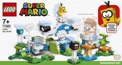 Конструктор LEGO Super Mario Дополнительный набор «Небесный мир лакиту» 484 детали (71389)