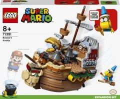 Конструктор LEGO Super Mario Дополнительный набор «Летучий корабль Боузера» 1152 детали (71391)