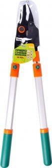 Сучкорез с храповым механизмом Mastertool телескопические ручки 700 - 1030 мм тефлон, AL ручки, наковальня (14-6126)