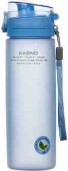Бутылка для воды Casno KXN-1157 650 мл Голубая (KXN-1157_Blue)