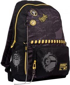 Рюкзак YES T-82 Minions черный для мальчиков 19 л (554688)