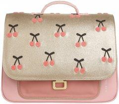 Портфель Jeune Premier Mini Cherry Pompon для дошкольников 26.5х10х32 см (5425038798685)
