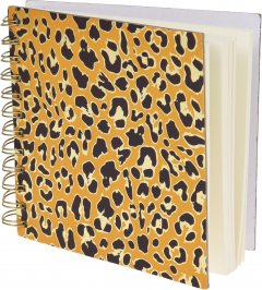 Блокнот Home & Styling Collection 16х16 см 300 листов (MC1001490_leopard)
