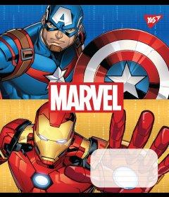 Набор тетрадей ученических YES Avengers Double power А5 12 листов в линейку 25 шт (765358)