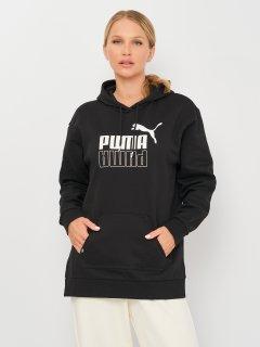 Худи Puma Power Elongated Hoodie 58954001 M Puma Black (4063699386332)