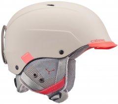 Шлем горнолыжный Cebe Contest Visor Taupe Coral 56-58 (848391039052)