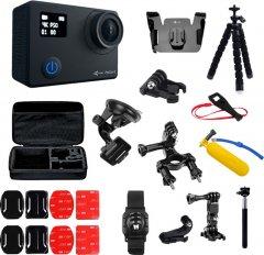 Набор блогера 30 в 1 экшн-камера AirOn ProCam 8 Black с аксессуарами (69477915500063)