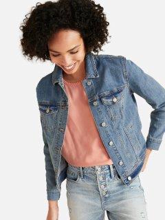 Куртка джинсовая Old Navy 912872158 S Голубая (1159754505)