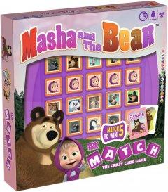 Настольная игра Winning Moves Top Trumps Match Masha and the Bear (002042) (5036905002042)