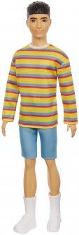 Кукла Кен Barbie Модник в полосатом джемпере (GRB91)