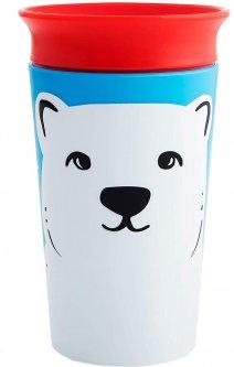 Чашка-непроливайка Munchkin Miracle 360° Sippy Белый медведь 266 мл (051779)